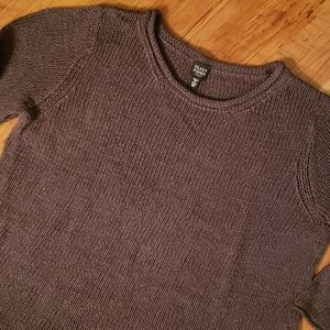Eileen Fisher crewneck cable knit sweater size 2x